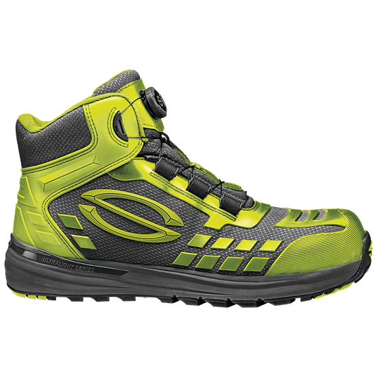 Ankle High Lime Armour Shoe - SIR - MB2017