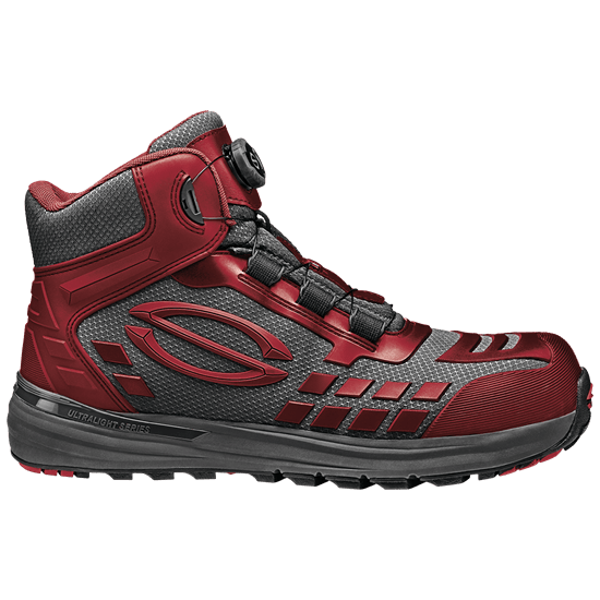 Red Armour Ankle High Shoe - SIR - MB2019